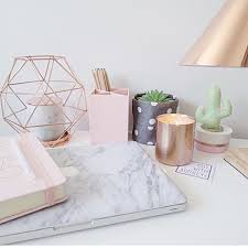 White Desk Accessories by Best 25 Gold Office Ideas Only On Pinterest Gold Office Decor