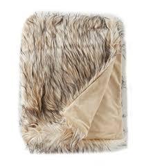 Faux Fur Blanket Queen Home Bedding Blankets U0026 Decorative Throws Dillards Com