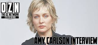 back view of amy carlson s hair amy carlson interview the oz network