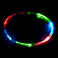 6 light led chaser necklace sureglow