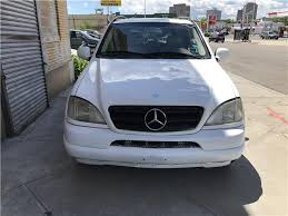 2000 mercedes m class ml430 white mercedes m class in jersey for sale used cars on