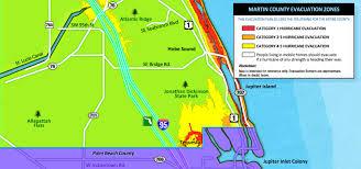Palm Beach Map Evacuation Maps For Treasure Coast