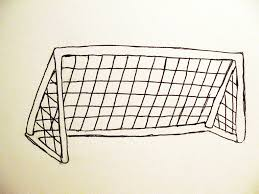 how to draw a soccer goal ehow uk clip art library