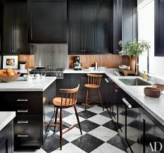 these 20 black kitchens make a stylish impact photos - one color fits most black kitchen cabinets