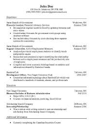 Financial Analyst Resume Example example financial analyst cv http resumesdesign com example
