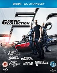 amazon com fast u0026 furious the 6 movie collection blu ray