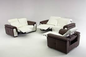 Recliner Sofa Sets Modern Reclining Sofa Set Cabinets Beds Sofas And Morecabinets