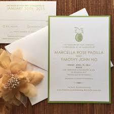 Beach Wedding Invitation Cards Invitation Flat Card U2013 Papercake Designs