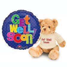 get well soon teddy get well soon combo q8egifts