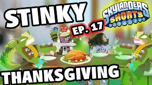 30 rock thanksgiving episode skylanders shorts episode 17 a stinky thanksgiving dinner w