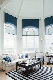 basement window curtains living room traditional with shell