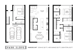 slope house plans park slope u2013 grandview heights