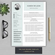 resume cv template by pro graphic design on creativemarket