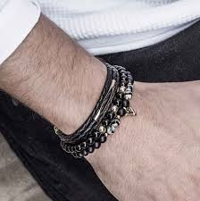men bracelet images Mens 39 bracelet set set liad galis jewelry jpg