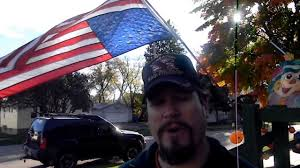 Display Of The American Flag Rules Veteran Flying His American Flag Upside Down Jason Asselin Youtube