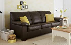 Leather Sofa Beds That Combine Quality  Value DFS - Brown sofa beds