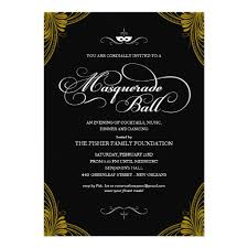 formal invitation masquerade invitation card