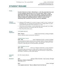 resume objective exles first time jobs student resume sle fungram co