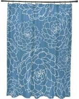 Orange And Blue Shower Curtain Black Friday Sales E By Design Shower Curtains