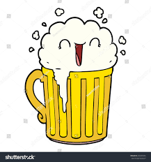 cartoon beer happy cartoon mug beer stock vector 648435505 shutterstock