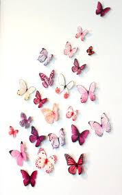 wall decor fascinating umbra butterfly wall decor for