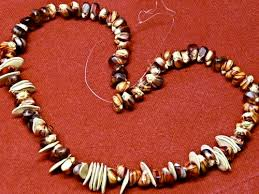 seed necklace images Indian corn and colorful dyed pumpkin seed necklaces gingerbread jpg