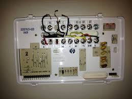 wiring diagrams thermostats honeywell programmable thermostat