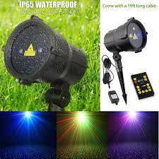 amazon com tepoinn christmas laser lights waterproof outdoor ip65