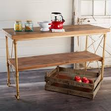 Wheeled Kitchen Island Vintage Rolling Kitchen Island Shades Of Light