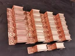 fabrication runs and projects copper ornamental downspout bands