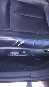 maintenance how can i repair cracks in leather seat motor