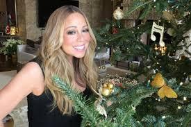 merry christmas mariah carey kylie jenner stars