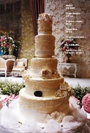 Wedding Cake 5 Tiers By Pelangi Cake Bridestory Com