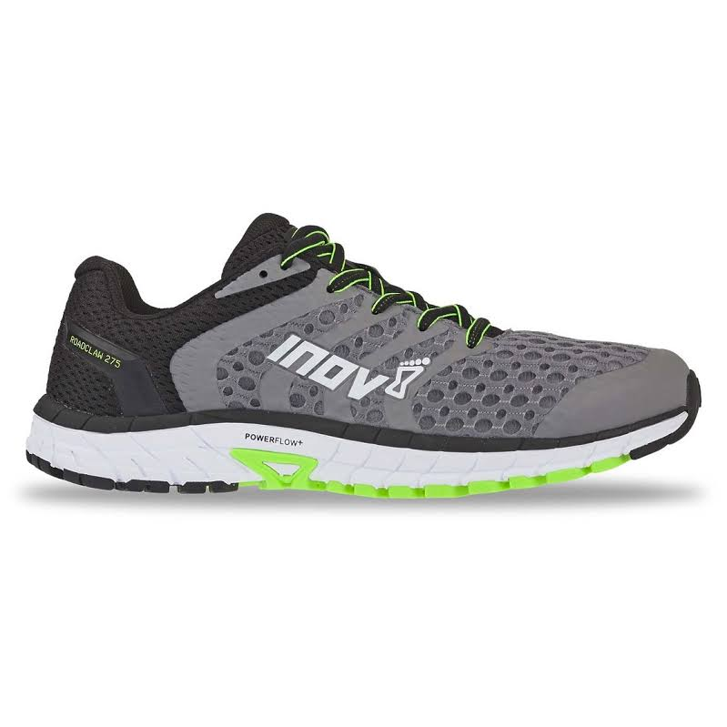 Inov-8 ROADCLAW 275 V2 Road Running Shoe Gray/Green Wide 9 000634-GYGR-S-9