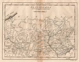 Map Of Virginia Cities And Towns by 1800 U0027s Pennsylvania Maps