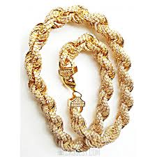 rope chain necklace men images Premium hip hop jewelry new iced out mens cz chain necklace 12mm jpg