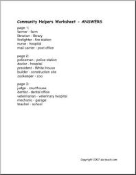 matching community helpers u0026 workplaces elem abcteach