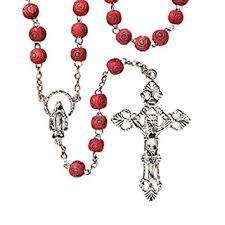 rosaries blessed by pope francis carved scented rosary blessed by his holiness