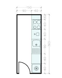 plans cuisine plans cuisine plan de cuisine linacaire plan cuisine en longueur