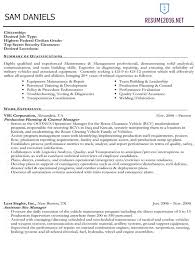 federal resume example resume example and free resume maker