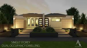 Dual Occupancy Floor Plans Dual Occupancy Modern House Plans U0026 Designs