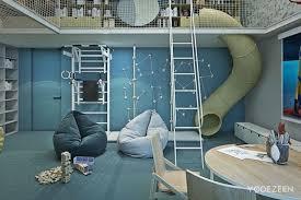 chambre enfant toboggan un toboggan d intérieur pour des glissades d exception