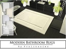 Modern Bathroom Rug The Sims Resource Modern Bathroom Rugs By Pralinesims U2022 Sims 4