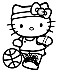 kitty colouring pages 28 print color free
