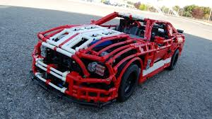 cool ford mustangs this lego ford mustang shelby gt500 is the coolest thing