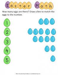 easter activity ideas math printable