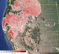 map of oregon smoke forecasts for wildfire smoke wildfire today