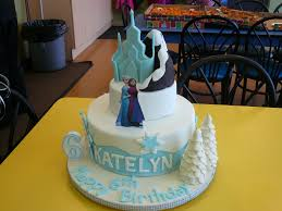 frozen themed birthday cakes party themes inspiration