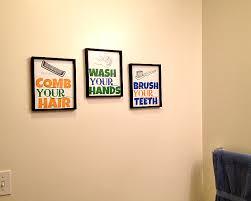 Diy Bathroom Wall Decor Diy Printable Bathroom Wall Art