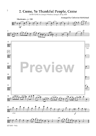 hymns of thanksgiving for 2 violins and piano optional viola